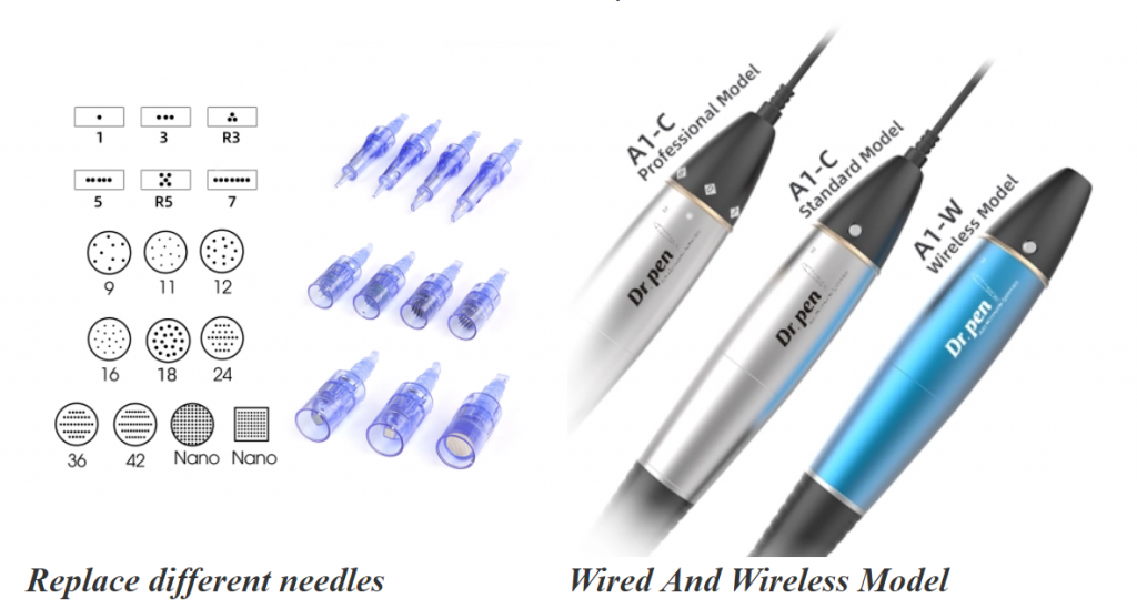 Replace micro needles for Dr pen A1