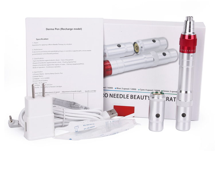 Wireless recharges micro needle derma pen packing