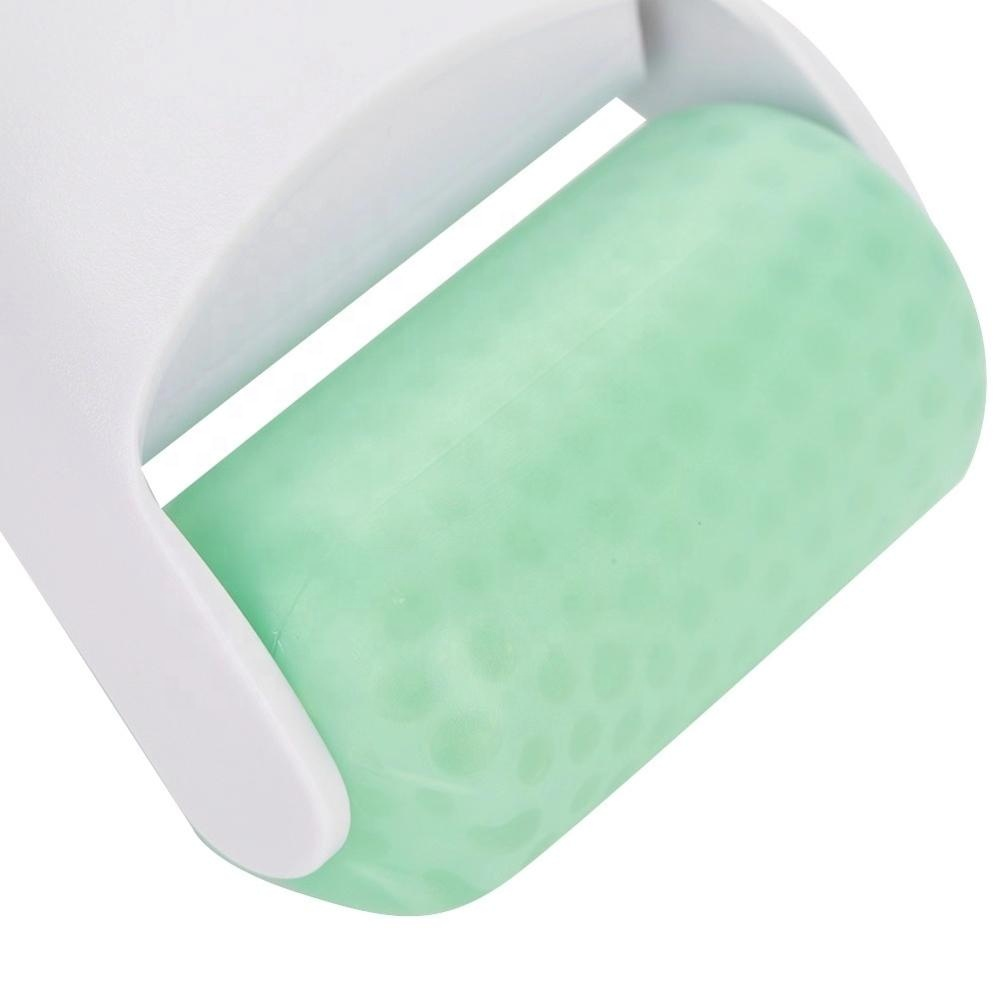Home use skin cool ice roller for face eye massage detail