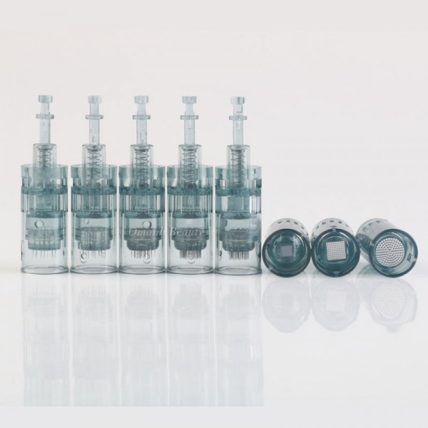 Stainless steel and titanium alloy needle cartridges for dr pen M8